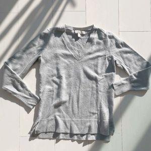 Merino wool v neck sweater Banana Republic